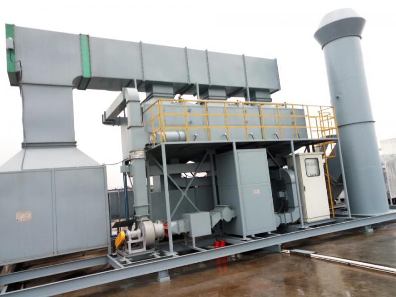 内蒙古有机废气吸附催化一体化装置